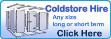 Click Here Coldstore Hire